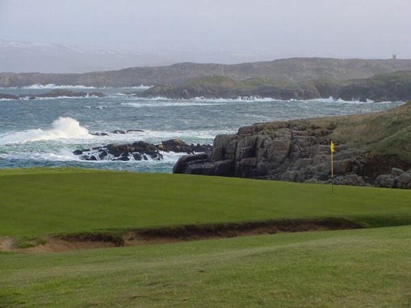 An image labelled Golfcourse