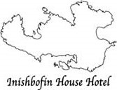 An image labelled Inishbofin House Hotel Logo