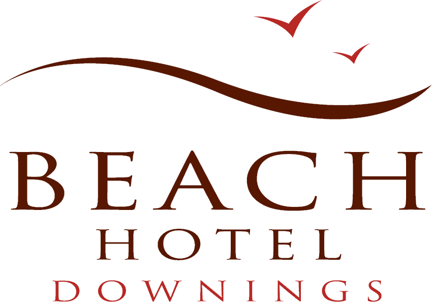 An image labelled Beach Hotel Downings Logo