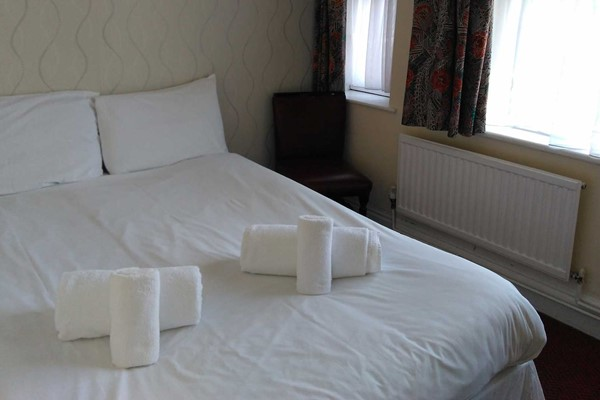 An image labelled Lodge Double Room