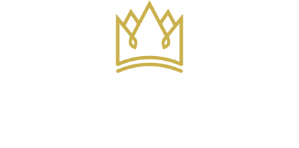 An image labelled Crown Hotel Stone Logo