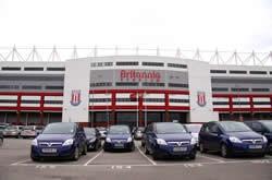 Brittania Stadium Stoke on Trent