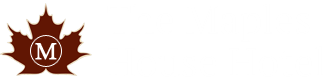 An image labelled The Maples House Hotel Logo