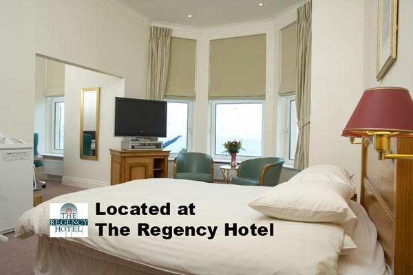 An image labelled Luxury Room