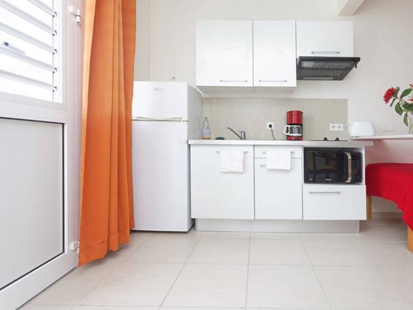 An image labelled Cusine ou Kitchenette