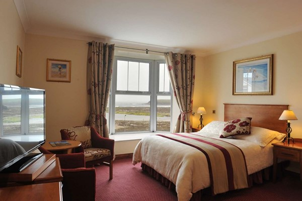 An image labelled Double With Sea Views Room