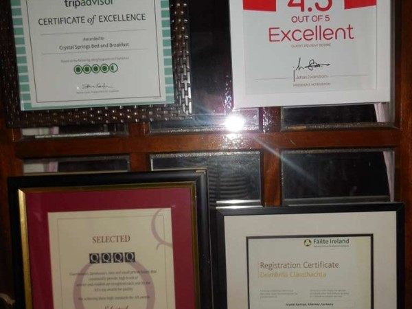An image labelled Certificate/Award