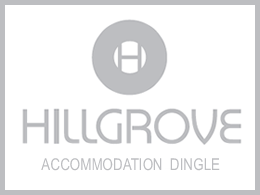 An image labelled Hillgrove Guesthouse Dingle Logo