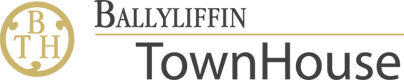 An image labelled Ballyliffin Townhouse Logo