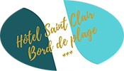 An image labelled Hôtel Saint Clair Logo