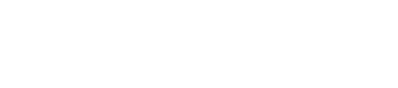 An image labelled The T.F. Royal Hotel & Theatre Logo
