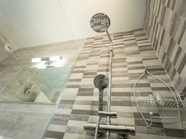 An image labelled Shower