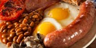 An image labelled COMPLIMENTARY BREAKFAST: TRY OUR FULL ENGLISH