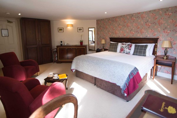 An image labelled Garden Suite Room