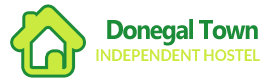 An image labelled Donegal Town Independent Hostel Logo