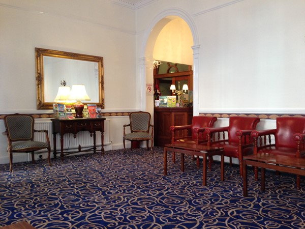 An image labelled Lobby or reception