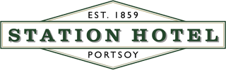 An image labelled Station Hotel Portsoy Logo