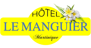 An image labelled Hôtel Le Manguier Logo