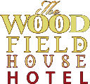 An image labelled Woodfield House Hotel Logo