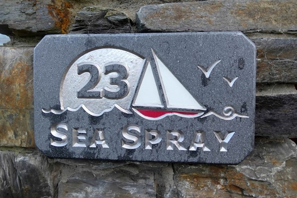 An image labelled 3 Double - 1 Single Sea Spray Cottage