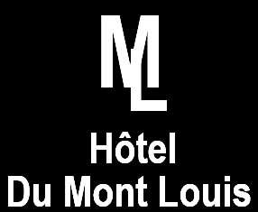 An image labelled Hôtel du Mont Louis Logo