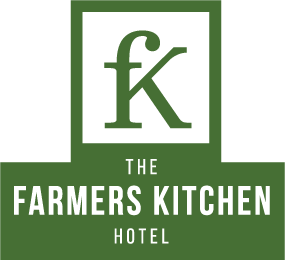 An image labelled The Farmers Kitchen Hotel Logo