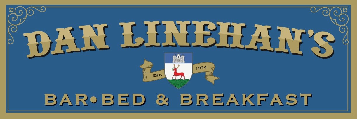 An image labelled Dan Linehan's Bar and B&B Logo