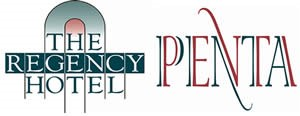 An image labelled The Regency Hotel and Penta Logo