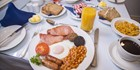 An image labelled Cooked Full Irish Breakfast at The Baggot Court Townhouse