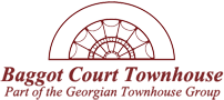 An image labelled Baggot Court Townhouse Logo