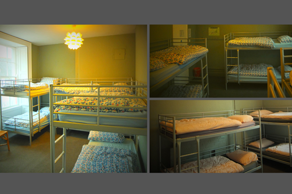 An image labelled Giường Tầng Bed in a 8 Bed Female