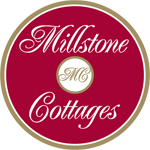 An image labelled Millstone Cottages Donegal Logo