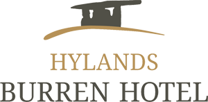 An image labelled Hylands Burren Hotel Logo