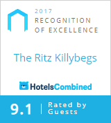 The Ritz Killybegs has received an RECOGNITION OF EXCELLENCE from Hotels Combined