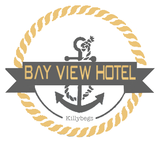An image labelled Bay View Hotel Killybegs Logo